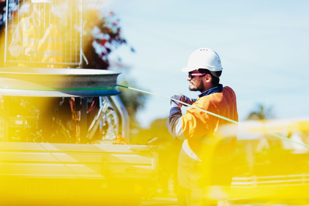 FTS is working on the Mernda rail extension